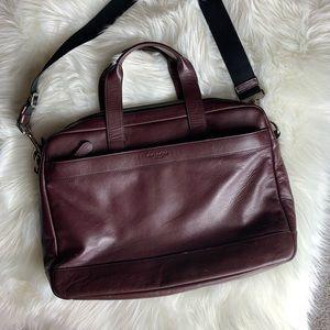 Large Coach messenger bag